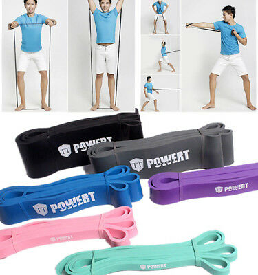 Stretch Fitness Heavy Resistance Bands Crossfit Yoga Rubber Loop Elastic Strings