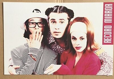 DEEE-LITE Original Vintage Record Mirror Magazine Photo Card