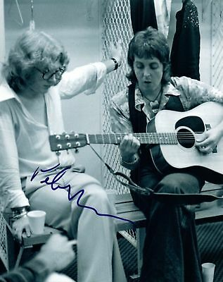 The Beatles / Paul Mccartney / Peter Asher / Hand-Signed Photo / Coa