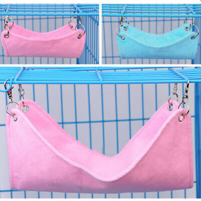 Hammock Cute Pet Hamster Rat Parrot Ferret Hamster Hanging Bed Cushion HouseCage