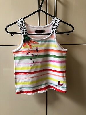 Girls Catimini Vest Age 8 Excellent Condition