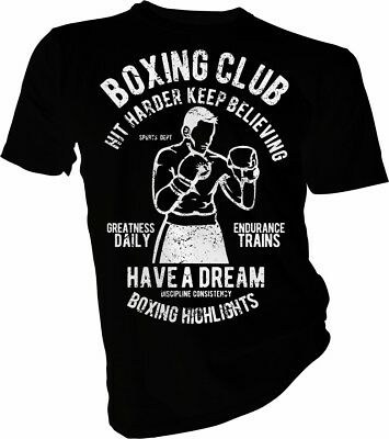 Boxing Club Have a Dream, Fight, MMA, UFC, Boxer, Box Unisex & Boys T-Shirt