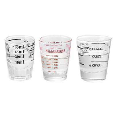 Kitchen Metering Scale Cup Glass Fl Oz Ounce Cup Thickened Coffee Measuring Cup