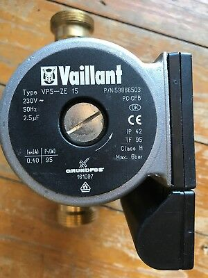 Vaillant Circulator Pump. Grundfos 161097 Unused Without Box