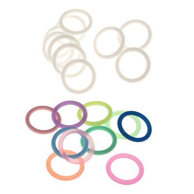 20Pcs Baby Pacifier mamRing Silicone Dummy Food Grade Silicone 21mm