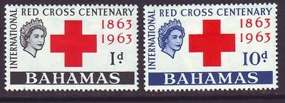 Bahamas 1963 SC 183-184 MH Set Red Cross