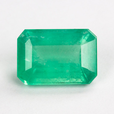 Émeraude - Brésil - Rectangulaire - 3,01 Carats - Green Natural Emerald !!!