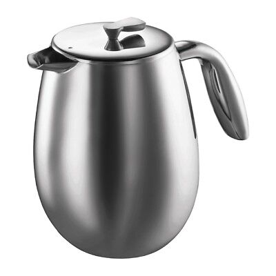 Bodum Columbia Stainless Steel French Press - 12 Cup