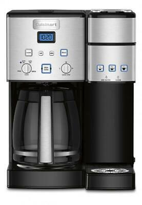 Cuisinart Coffee Center 12 Cup and Single Brew Maker - Silver