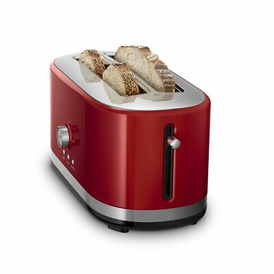 KitchenAid Long 4-Slice Toaster | Empire Red