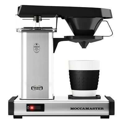 Moccamaster Cup-One Single Cup Coffee Maker | Polished SIlver