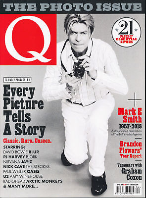 Q Magazine April 2018 (The Photo Issue, Bowie, Mark E. Smith, Brandon Flowers)