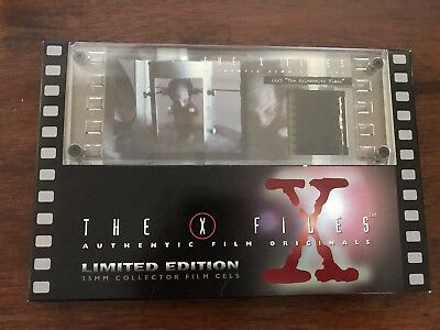 X-Files Authentic 1X23 The Erlenmeyer Flask 35MM Collector Film Cels Limited Ed