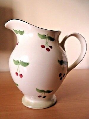 Pretty Laura Ashley Berries Pitcher Style 1 Ltr Jug Excellent Cond
