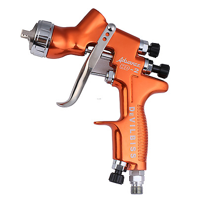 Devilbiss HD-2 HVLP Spray Gun Gravity Topcoat Touch-Up Paint Cup Auto Paint New