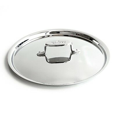 """All-Clad D5 Brushed Stainless Steel Lid - 10"""""""