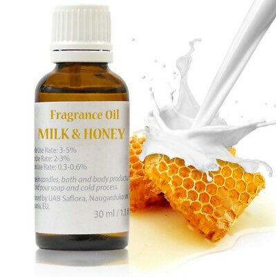 30 ml Milk & Honey Fragrance Oil for Soap/Candle/Cosmetics