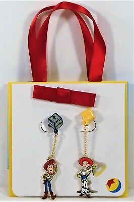 Disney Parks Collection Jewelry Pixar Toy Story Woody Jessie Earrings New Cute