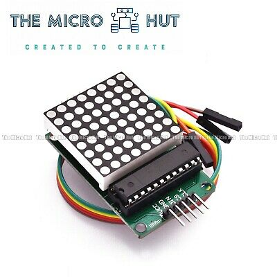 MAX7219 8x32 LED Dot Matrix Display RED - Arduino Raspberry NodeMCU