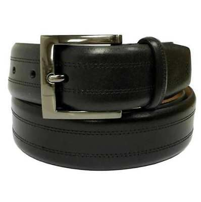 NEW Kirkland Signature Men's Black Italian Leather Full Grain Belt  VARIETY SIZE