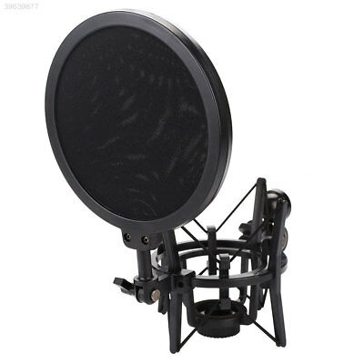 Plastic Black Mic Stand Mount Holder Professional Useful Recording Accessories