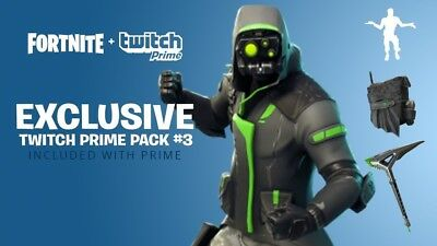 Fortnite Twitch Prime Pack 3 Pre-Order (Twitch Prime)