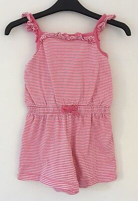 Age 3-4 Summer Playsuit From GEORGE