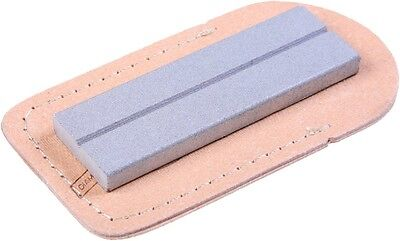 """Eze Lap 26F Diamond Sharpener Stone Knife Sharpening 600 Fine GRIT 3"""" and Pouch"""
