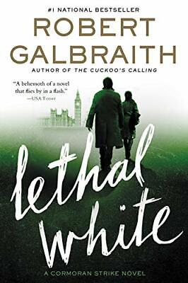 Lethal White: Cormoran Strike Book 4 0751572853 Robert Galbraith Fast Post