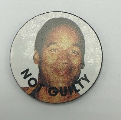 "Old O J Simpson 2"" TOKEN COIN FLIPPING Guilty or Not Guilty Joke BUFFALO BILLS"