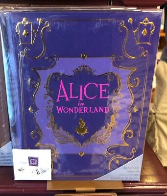 Disney Parks Walt Disney Archives Alice in Wonderland Storybook Replica Notecard