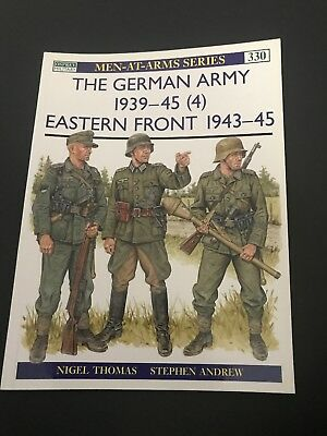 Osprey Men At Arms Series- The German Army 1939-45 (4) Eastern Front 1943-45