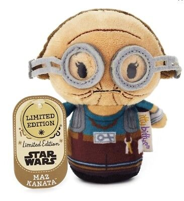 Hallmark Itty Bittys Star Wars: Force Awakens MAZ KANATA Online Exclusive Bitty