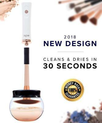 New 2018 Design Spinning Makeup Brush Cleaning Drying Tool Accessory Electric