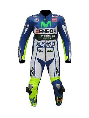 Valentino Rossi Yamaha Movistar New Model  Motorbike Leather Racing Suit