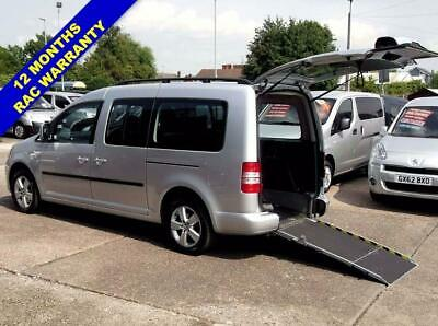 2011 11 Volkswagen Caddy Maxi 1.6 C20 Life Tdi  5 Seats Wheelchair Accessible