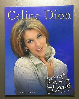 Celine Dion Let's Talk About Love Softcover Book 1998