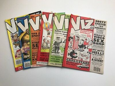Viz Comics - 1993 Complete Year - Issues 58, 59, 60, 61, 62, 63 - VG Condition