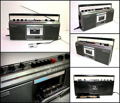 PIONEER SK-111F 4 Band Stereo Radio Cassette Boombox (AUX input)
