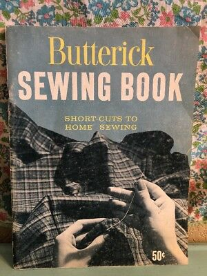 Vintage Butterick Sewing Book 1959 1950s 1960s Wife Clothing Fashion