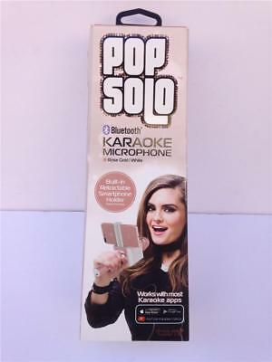 Brand New Tzumi Pop Solo Bluetooth Karaoke Microphone 4956 - Rose Gold