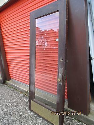 Chestnut Exterior Front Door Or Entry Door Large Full View Glass