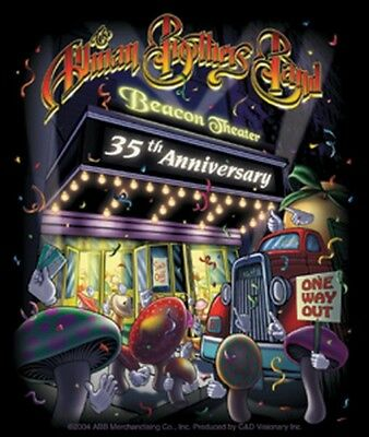 Allman Brothers Beacon Theater 35th Ann Sticker S-3290