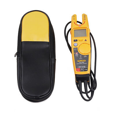 Fluke T6-1000 Clamp Continuity Current Electrical  Clamp Meter with Carring Case