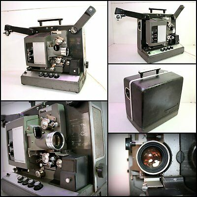 1960's Bell & Howell FILMOSOUND 16mm Movie Projector