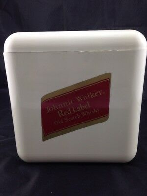 VINTAGE SUPADRY JOHNNIE WALKER RED LABEL ICE  BUCKET 1970's MADE IN ENGLAND.
