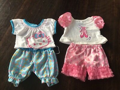 Build A Bear outfits Choose One Ballet Pjs Hello Kitty T Shirt And Pants