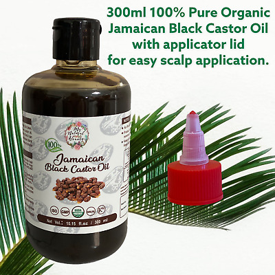 BUY A LARGE 250ml get a 100ml refill FREE! 100% PURE JAMAICAN BLACK CASTOR OIL