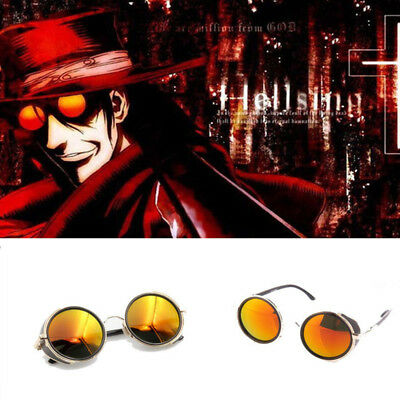 Anime Vampire Hunter HELLSING Alucard Tailored Sunglasses Cosplay Glasses Unisex