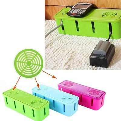 Electrical Wire Cable Organiser Storage Box Socket Cooling Power Board Junction